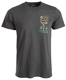 Univibe Men's Chill Bird Graphic T-Shirt