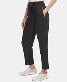 DKNY Belted Cargo Pants