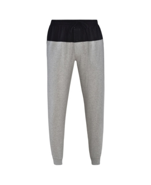 Hanes 1901 Men's French Terry Jogger with Front and Back Yoke