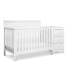 Dakota 4-in-1 Crib and Changer Combo