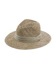 San Diego Hat Men's Seagrass Panama Fedora