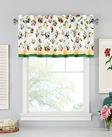 "French Garden 60"" x 15"" Window Valance"