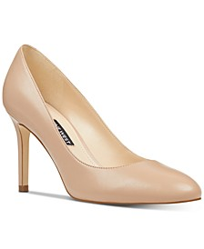 Dylan Round-Toe Pumps