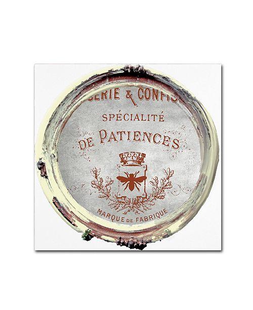 "Trademark Global Color Bakery 'Paris in Frames 2' Canvas Art - 14"" x 14"""
