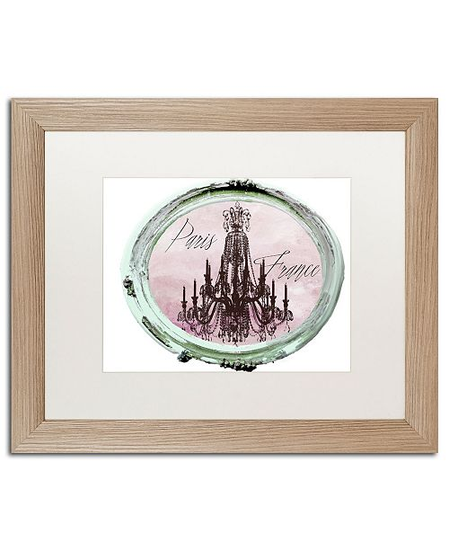 "Trademark Global Color Bakery 'Paris in Frames 5' Matted Framed Art - 16"" x 20"""