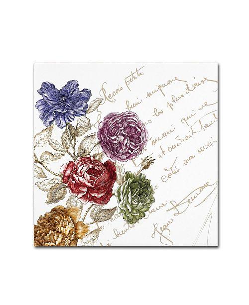 "Trademark Global Color Bakery 'La Belle Vie I' Canvas Art - 18"" x 18"""
