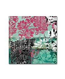 """Color Bakery 'Serendipity II' Canvas Art - 14"""" x 14"""""""