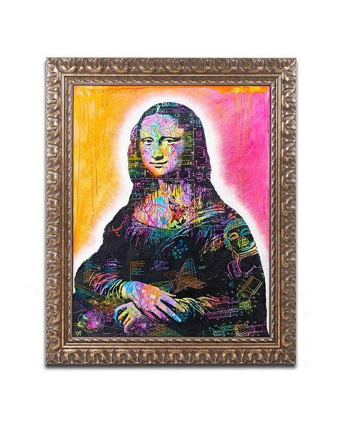 """Trademark Global Dean Russo 'Mona Lisa' Ornate Framed Art - 16"""" x 20"""""""