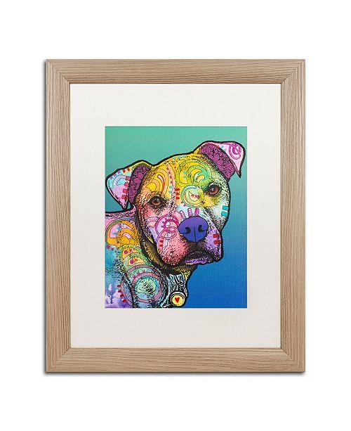 """Trademark Global Dean Russo 'Zeus Custom 004' Matted Framed Art - 16"""" x 20"""""""