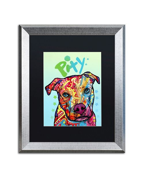 "Trademark Global Dean Russo 'Pity' Matted Framed Art - 16"" x 20"""
