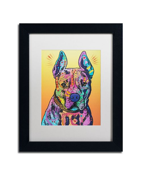 """Trademark Global Dean Russo 'Bugsy 2' Matted Framed Art - 11"""" x 14"""""""