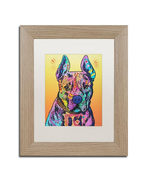 "Trademark Global Dean Russo 'Bugsy 2' Matted Framed Art - 11"" x 14"""