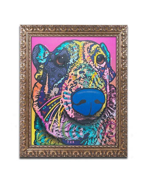 """Trademark Global Dean Russo 'Oliver 16' Ornate Framed Art - 16"""" x 20"""""""