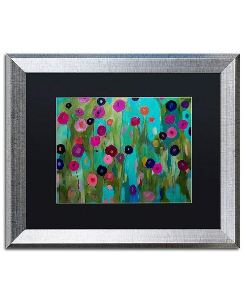 """Trademark Global Carrie Schmitt 'Time To Bloom' Matted Framed Art - 16"""" x 20"""""""
