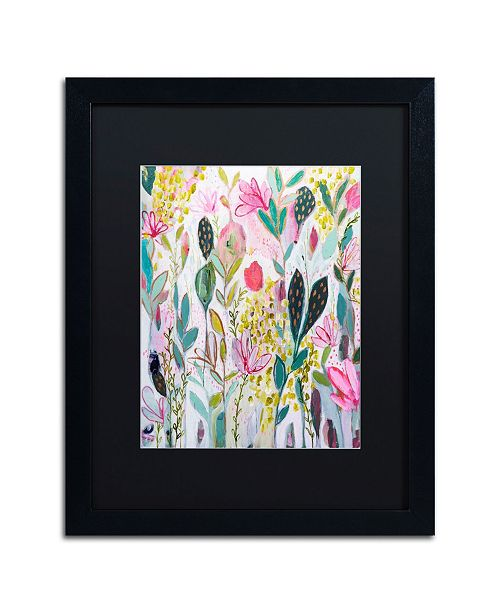 "Trademark Global Carrie Schmitt 'Meadow' Matted Framed Art - 16"" x 20"""