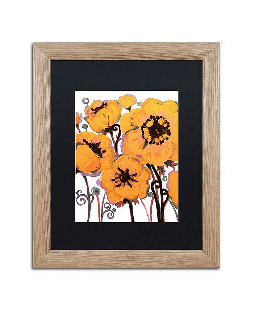 "Trademark Global Natasha Wescoat '008' Matted Framed Art - 16"" x 20"""