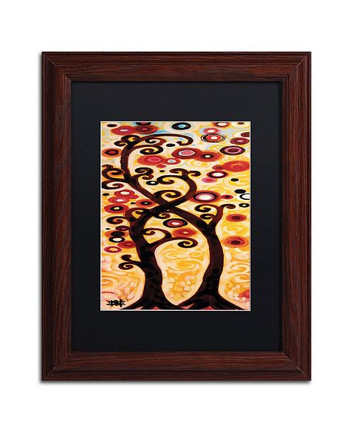 "Trademark Global Natasha Wescoat '012' Matted Framed Art - 11"" x 14"""