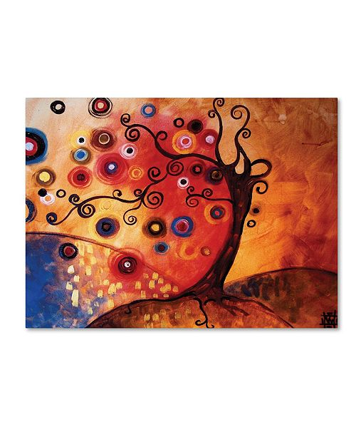 "Trademark Global Natasha Wescoat '013' Canvas Art - 18"" x 24"""