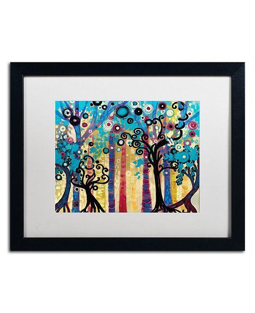 "Trademark Global Natasha Wescoat '026' Matted Framed Art - 16"" x 20"""