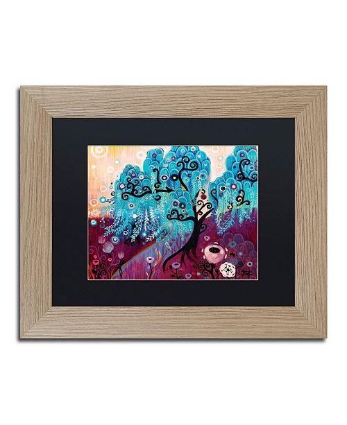 "Trademark Global Natasha Wescoat '033' Matted Framed Art - 11"" x 14"""