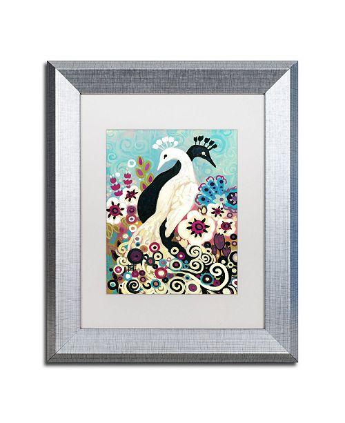 "Trademark Global Natasha Wescoat '043' Matted Framed Art - 11"" x 14"""