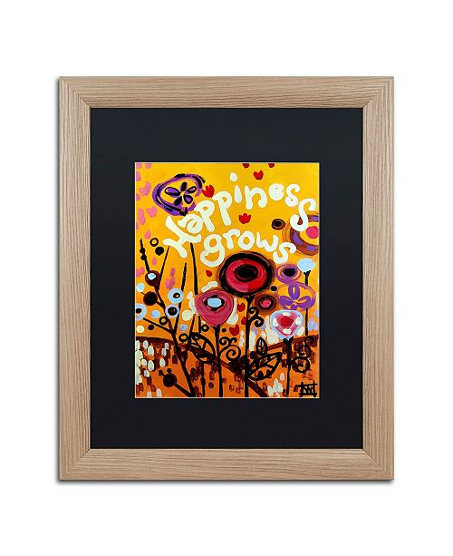 "Trademark Global Natasha Wescoat '106' Matted Framed Art - 16"" x 20"""