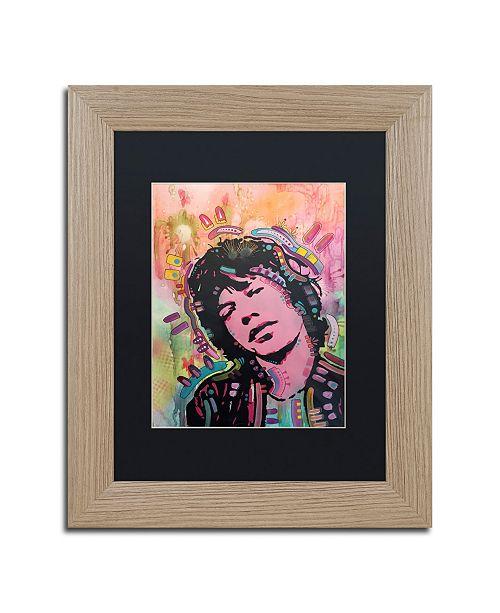 """Trademark Global Dean Russo 'Mick 1' Matted Framed Art - 11"""" x 14"""""""