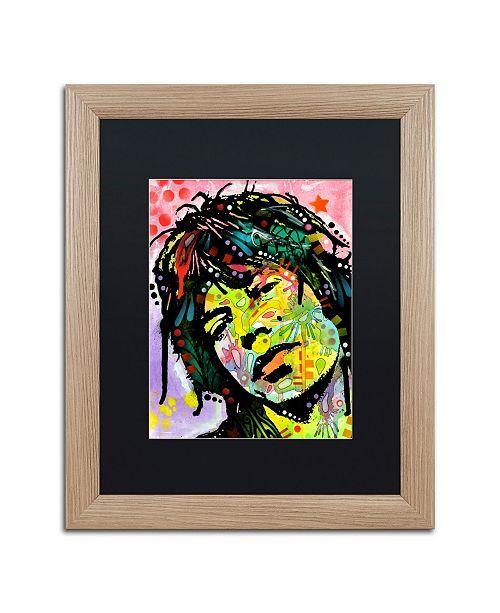 """Trademark Global Dean Russo 'Mick Jagger' Matted Framed Art - 16"""" x 20"""""""
