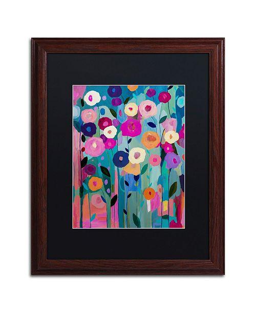"""Trademark Global Carrie Schmitt 'Nurture Your Soul' Matted Framed Art - 16"""" x 20"""""""
