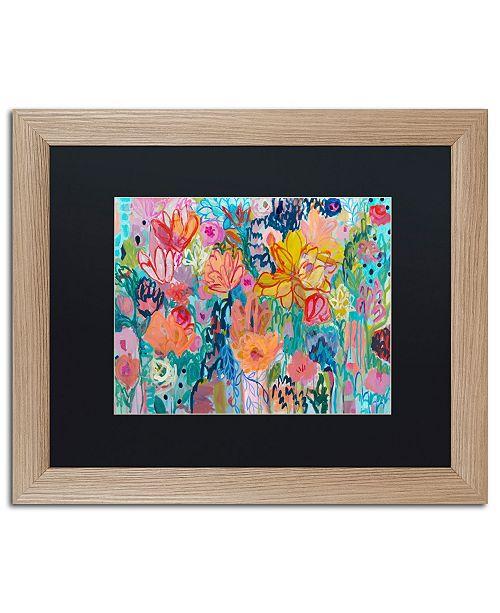 """Trademark Global Carrie Schmitt 'Exhalation 6000' Matted Framed Art - 16"""" x 20"""""""