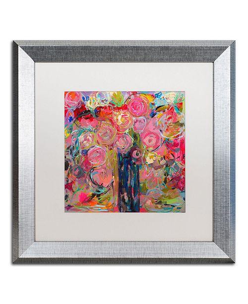 """Trademark Global Carrie Schmitt 'Release' Matted Framed Art - 16"""" x 16"""""""