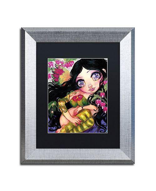 "Trademark Global Natasha Wescoat 'Love Is In The Air' Matted Framed Art - 11"" x 14"""