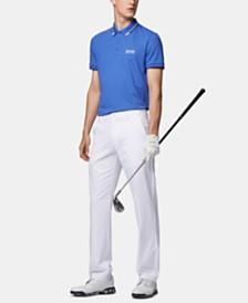 BOSS Men's Paddy Pro Regular-Fit Piqué Quick-Dry Polo Shirt