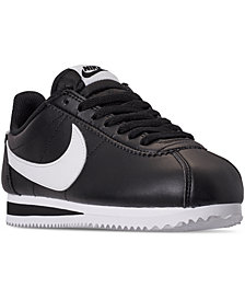 Nike Women's Classic Cortez Leather Casual Sneakers from Finish Line