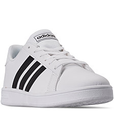 adidas Big Boys' Grand Court Casual Sneakers from Finish Line