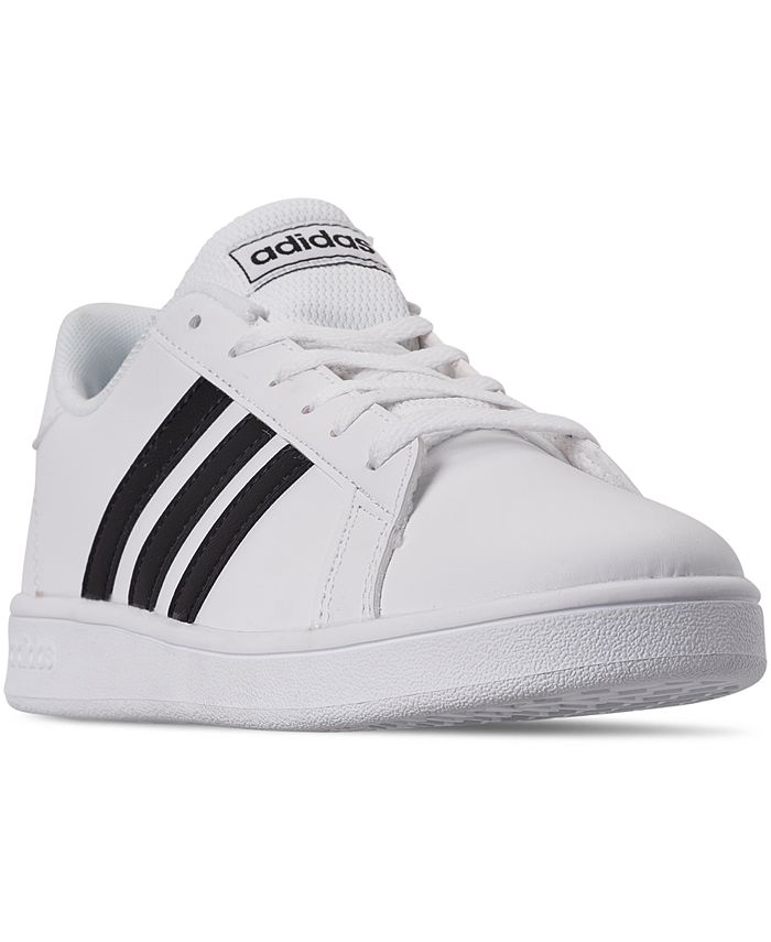 adidas - Big Boys' Grand Court Casual Sneakers from Finish Line