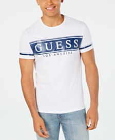 GUESS Men's Banner Logo T-Shirt