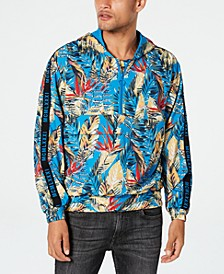 Men's Half-Zip Tropical Hoodie