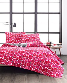 Mini Unikko Quilt Set, Full/Queen