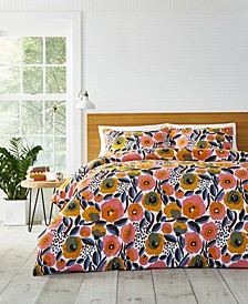 Rosarium Duvet Cover Set, Full/Queen