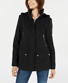 Celebrity Pink Juniors' Hooded Coat