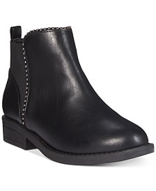 Rampage Youth Black Chelsea Boots