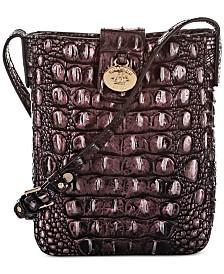Brahmin Marley Melbourne Embossed Leather Crossbody