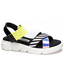 All Time Stripe Flat Sandals