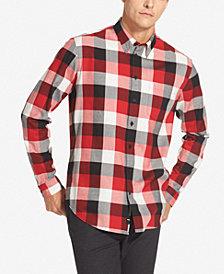 DKNY Men's Buffalo Check Shirt
