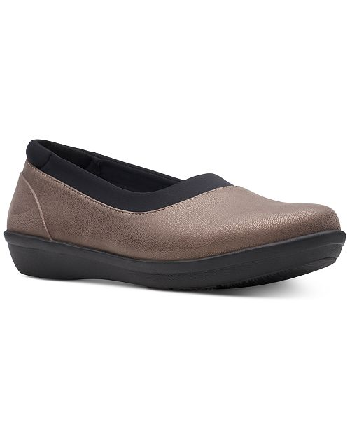 Clarks Women's Cloudsteppers Ayla Pure Flats, Created for Macy's