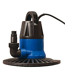 Sports Super Dredger 2450 Gph In-Ground Winter Cover Pump with Base