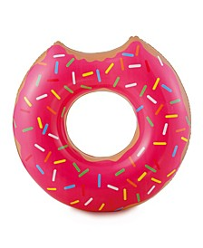 Play Strawberry Doughnut - Inflatable Swimming Pool Tube
