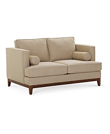 "Kellia 59"" Fabric Loveseat, Created for Macy's"