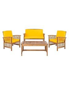 Rocklin 4Pc Outdoor Seating Set